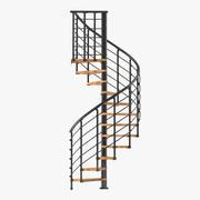 계단 5 3D 모델 3d model