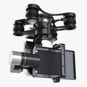 万向节稳定器Zenmuse 3d model