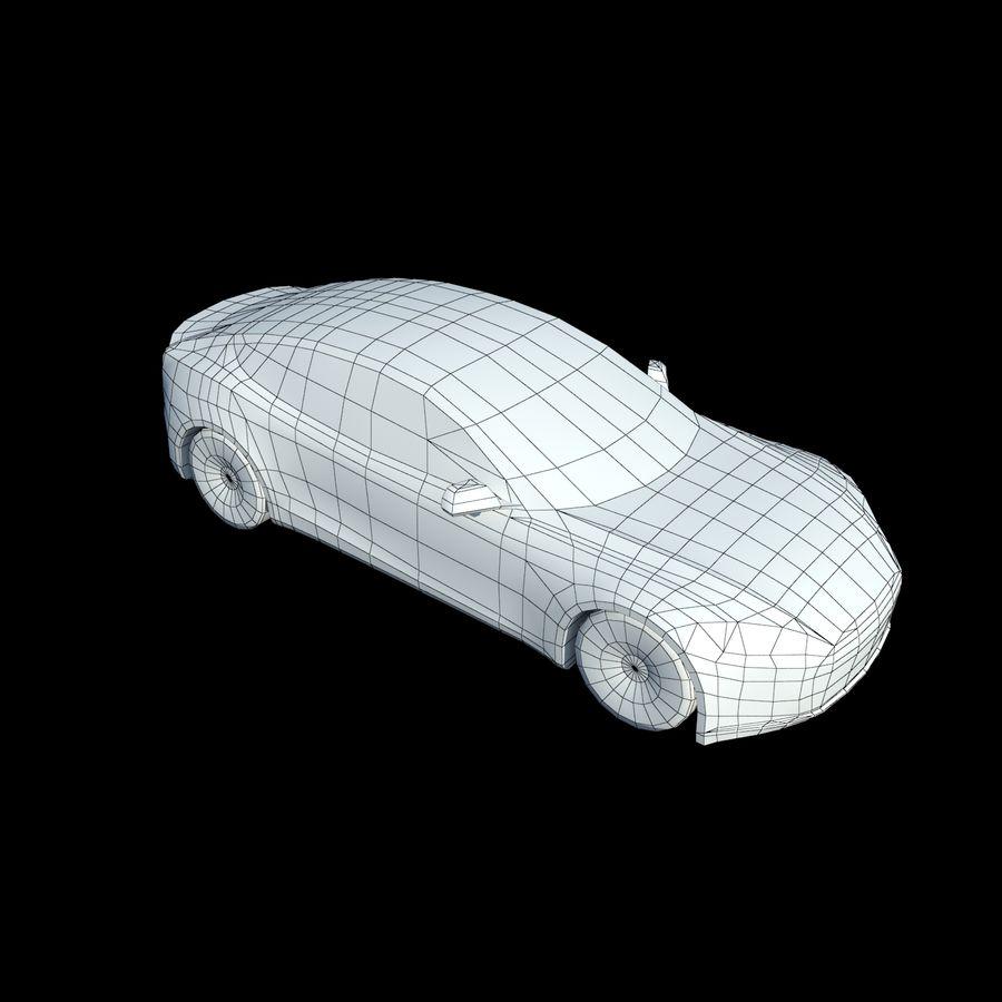 Tesla Model S Titanium Metallic royalty-free 3d model - Preview no. 10
