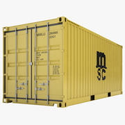 Cargo Container 10 3d model