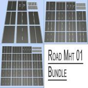 Road MHT 01-bundel 3d model