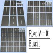 Road MHT 01 Bundle 3d model