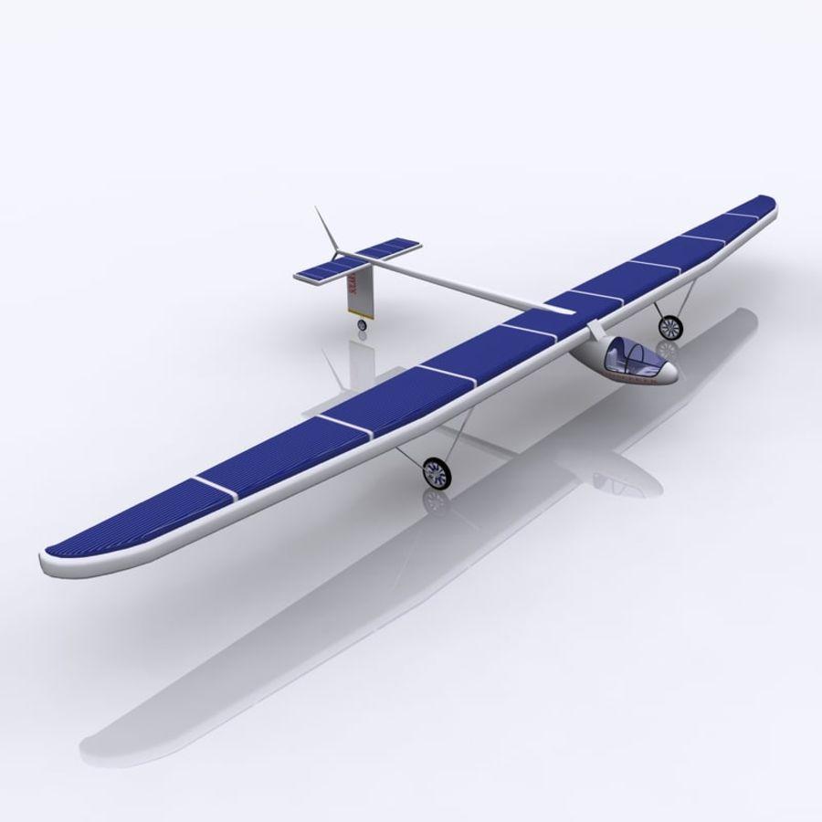 ソーラー航空機 royalty-free 3d model - Preview no. 1