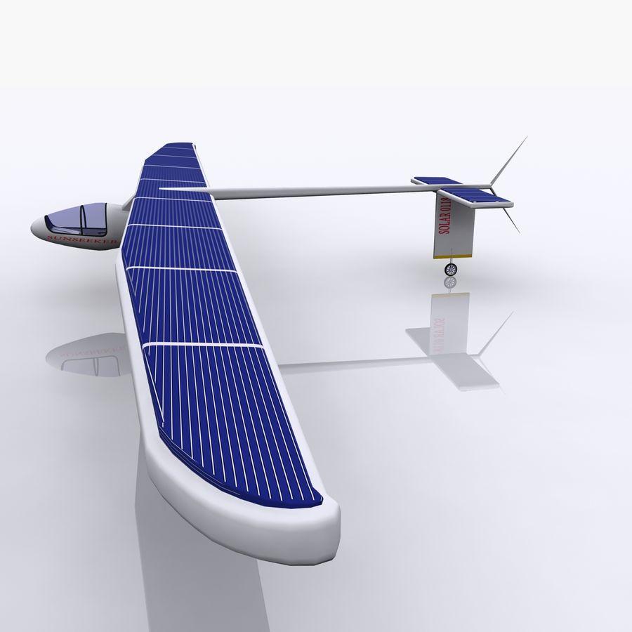 ソーラー航空機 royalty-free 3d model - Preview no. 11