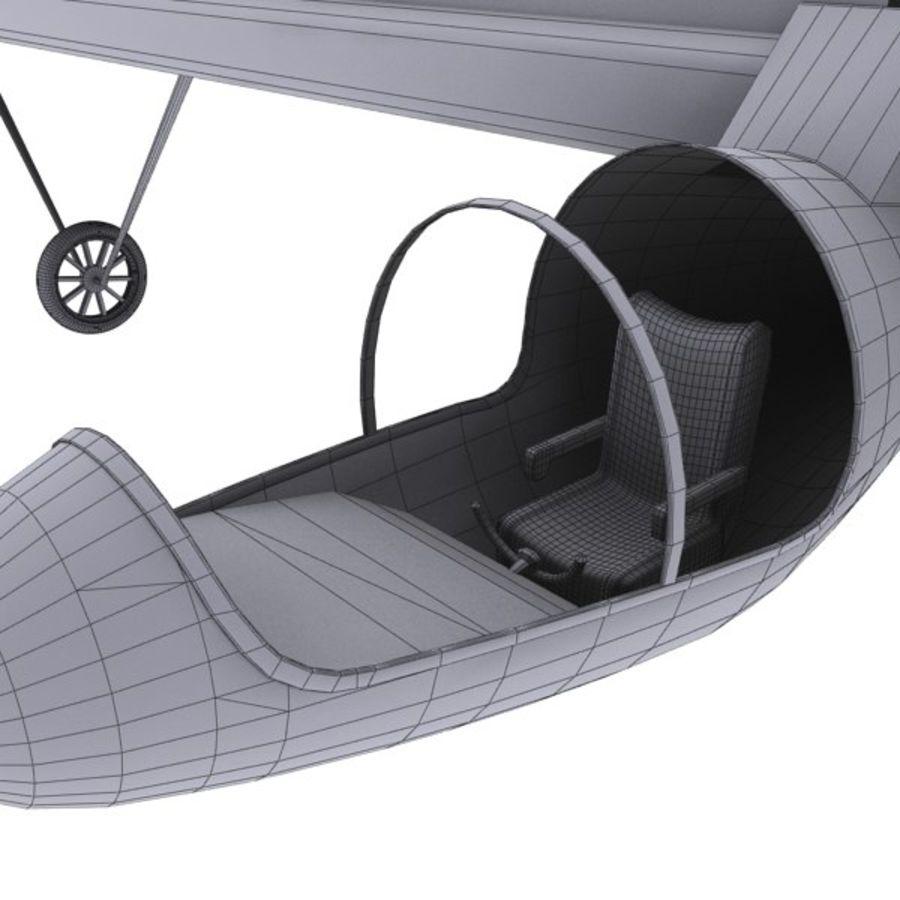 ソーラー航空機 royalty-free 3d model - Preview no. 19