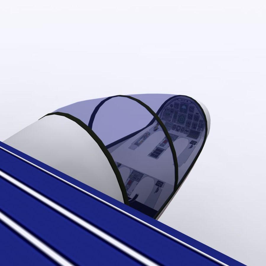 ソーラー航空機 royalty-free 3d model - Preview no. 4