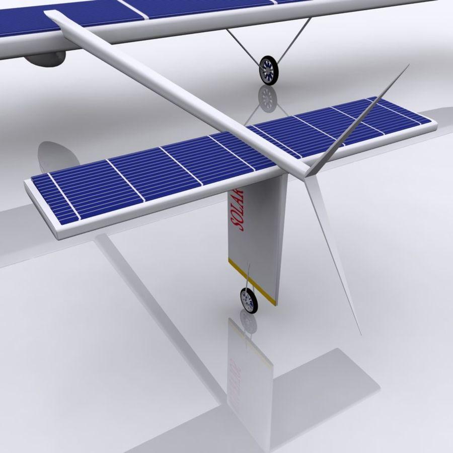 ソーラー航空機 royalty-free 3d model - Preview no. 7