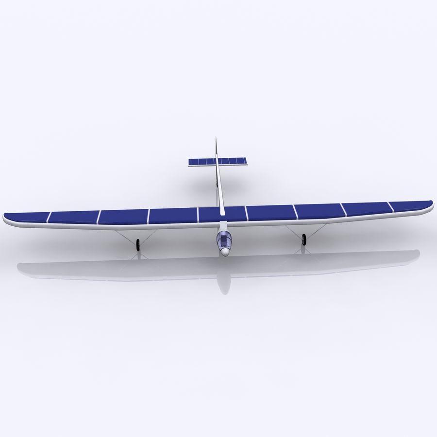 ソーラー航空機 royalty-free 3d model - Preview no. 12
