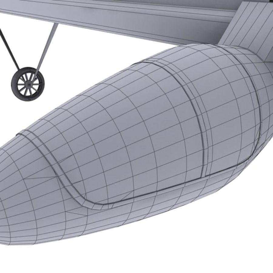 ソーラー航空機 royalty-free 3d model - Preview no. 18