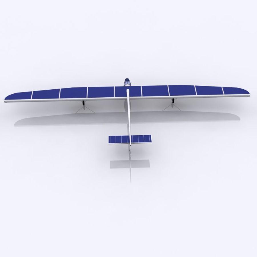 ソーラー航空機 royalty-free 3d model - Preview no. 10