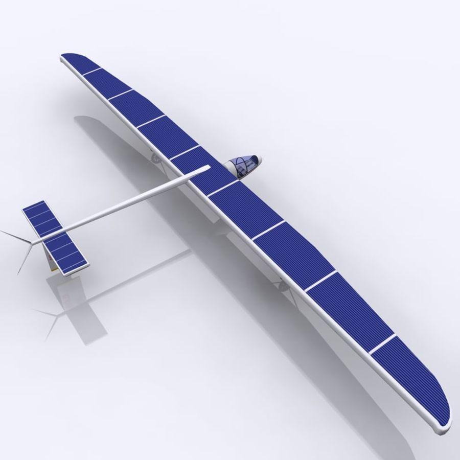 ソーラー航空機 royalty-free 3d model - Preview no. 5