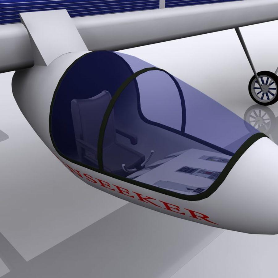 ソーラー航空機 royalty-free 3d model - Preview no. 2