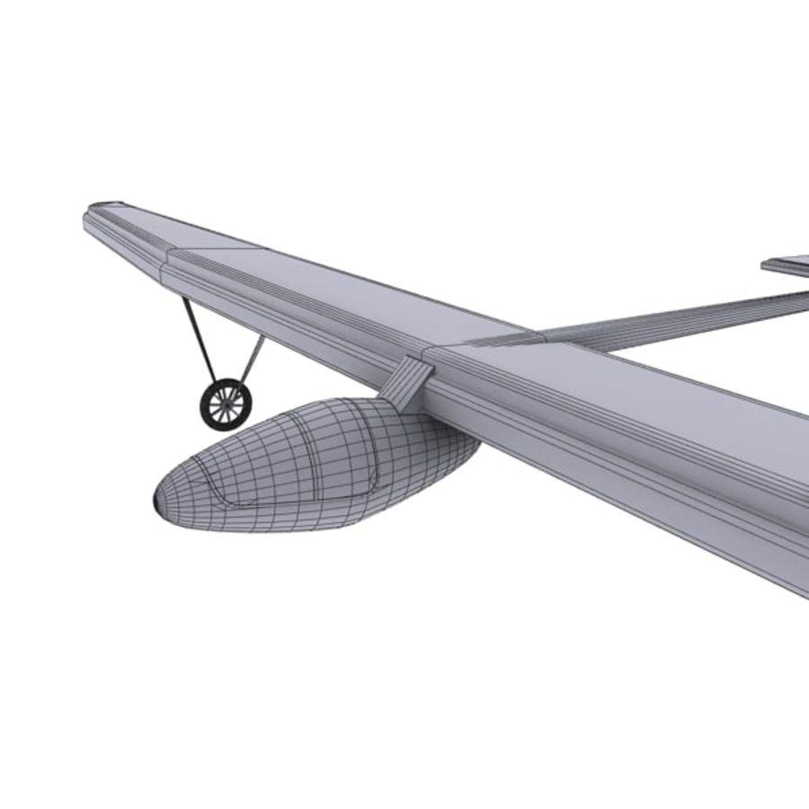 ソーラー航空機 royalty-free 3d model - Preview no. 16