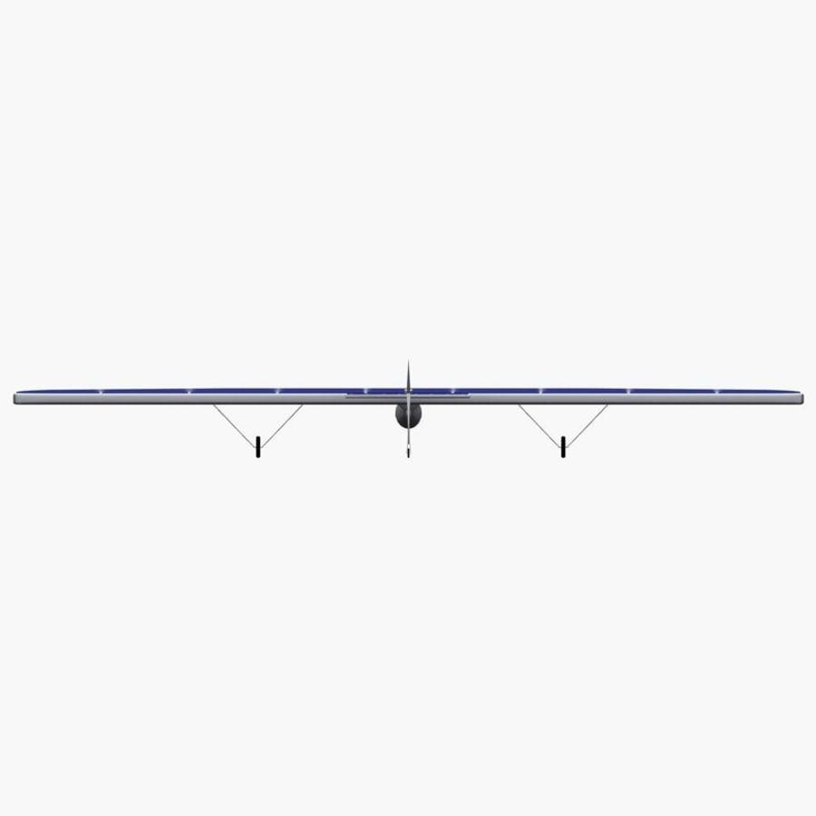 ソーラー航空機 royalty-free 3d model - Preview no. 8