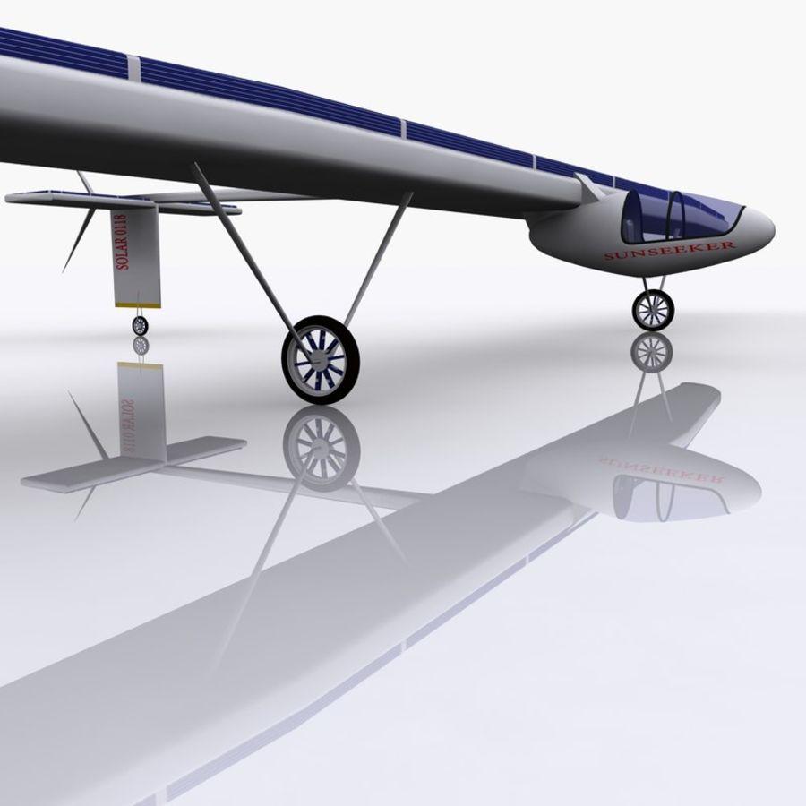 ソーラー航空機 royalty-free 3d model - Preview no. 6