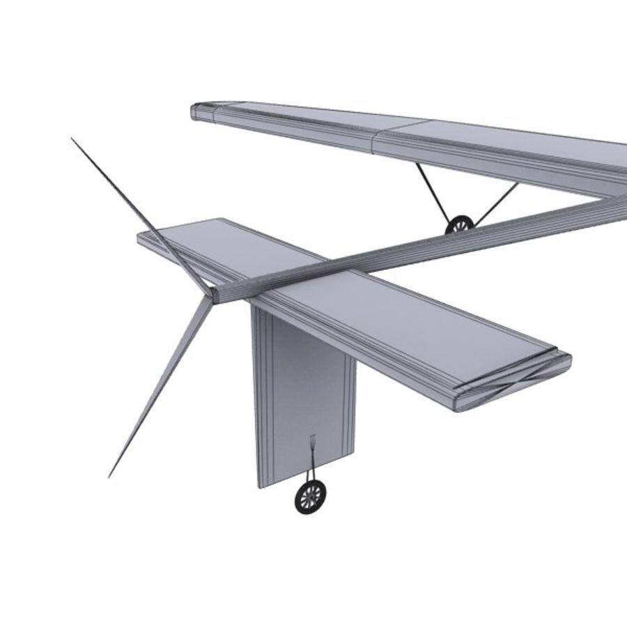 ソーラー航空機 royalty-free 3d model - Preview no. 17