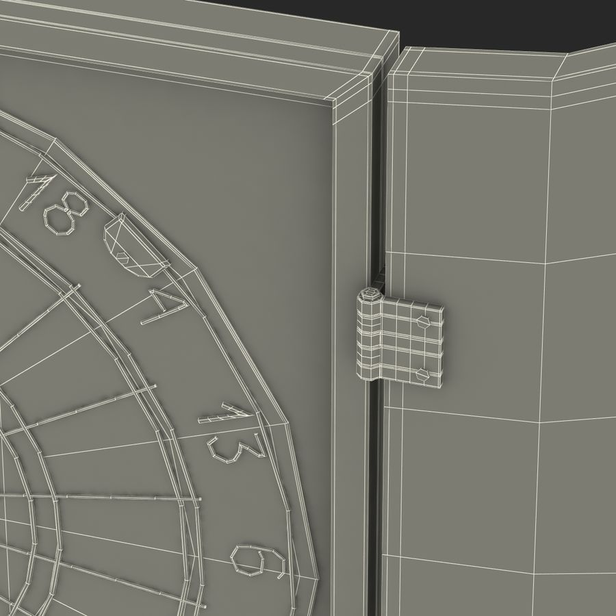 Dart Board 3 royalty-free 3d model - Preview no. 28