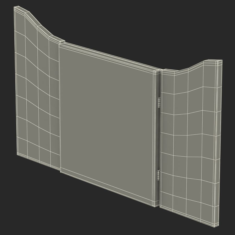 Dart Board 3 royalty-free 3d model - Preview no. 24