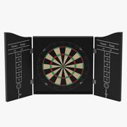 Dart Board 3 3d model