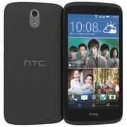 HTC Desire 526G + Dual Sim Lacquer Black 3d model