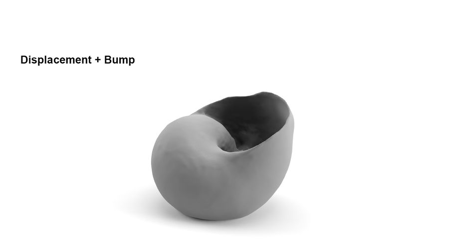 Guscio di chiocciola royalty-free 3d model - Preview no. 10
