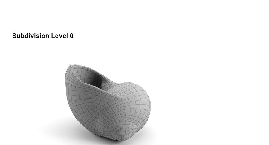 Guscio di chiocciola royalty-free 3d model - Preview no. 8