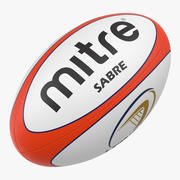 Rugby Ball Mitre modelo 3d
