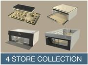3D Shop Collection V1 3d model