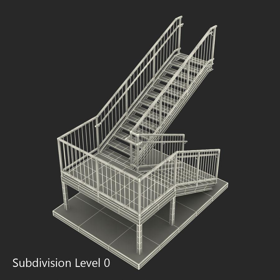 계단 royalty-free 3d model - Preview no. 18