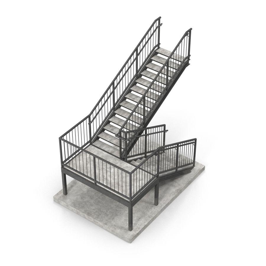 계단 royalty-free 3d model - Preview no. 10