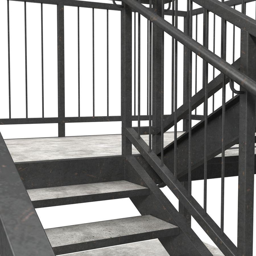 계단 royalty-free 3d model - Preview no. 17