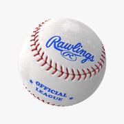 Baseball Ball Rawlings 3d model