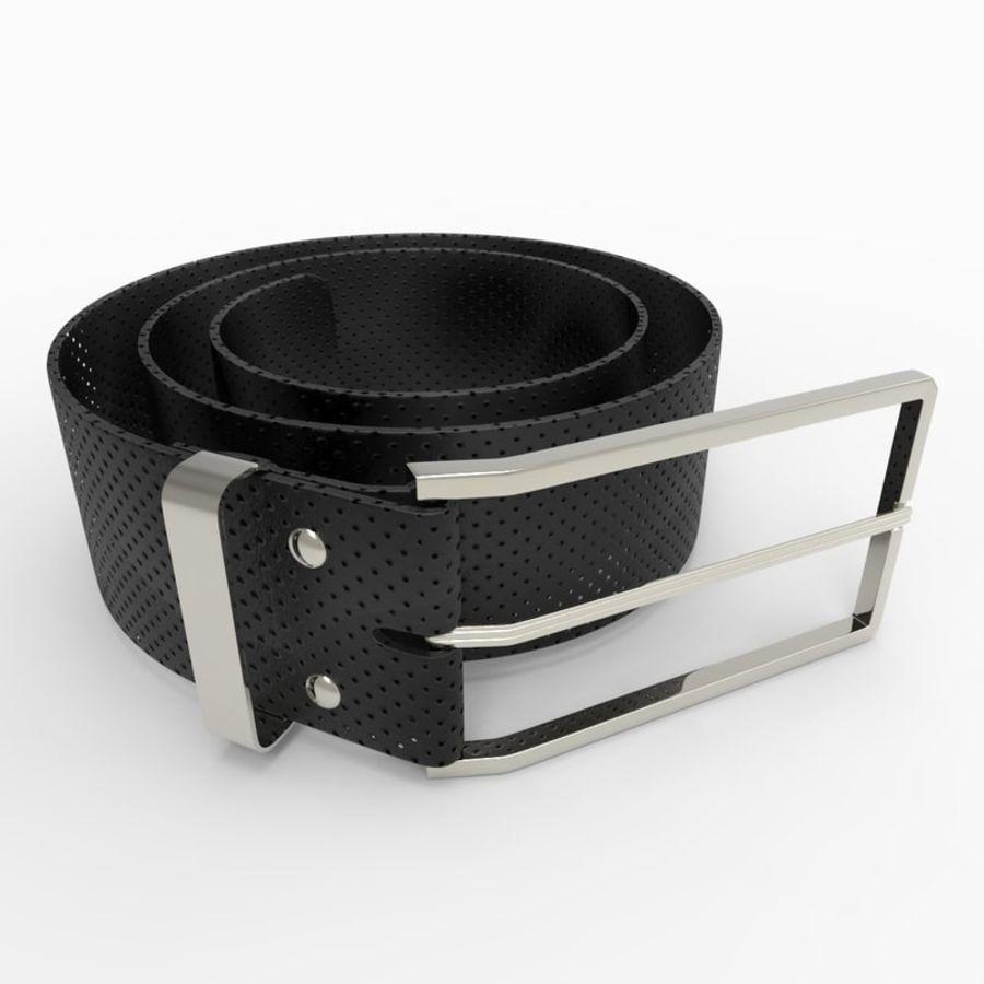 Buckle(N°9)+Belt 3D Model $29 -  c4d  obj  fbx  3ds - Free3D