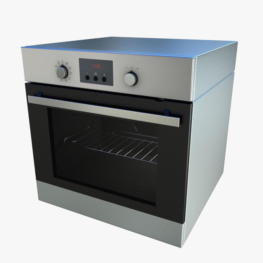 Forno ikea raffinerad modello 3d 39 obj 3ds fbx max for Ikea cucina 3d
