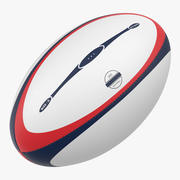 Rugby Ball Generic 3d model
