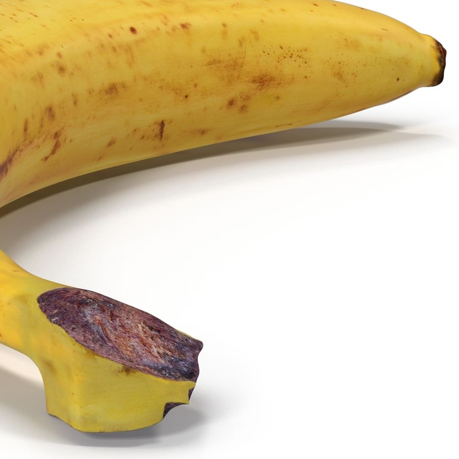 Banaan royalty-free 3d model - Preview no. 12