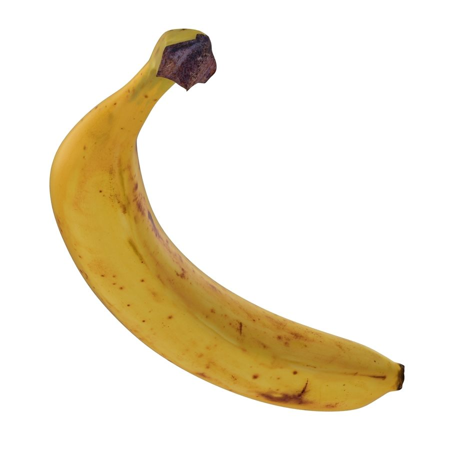 Banaan royalty-free 3d model - Preview no. 10
