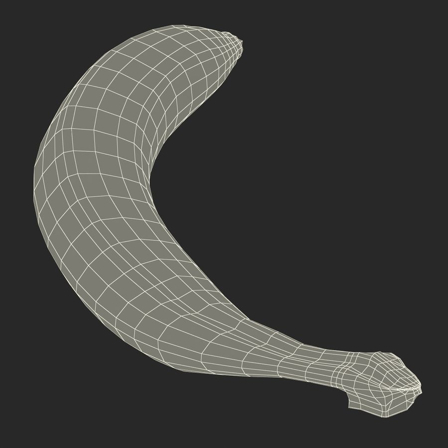Banaan royalty-free 3d model - Preview no. 21