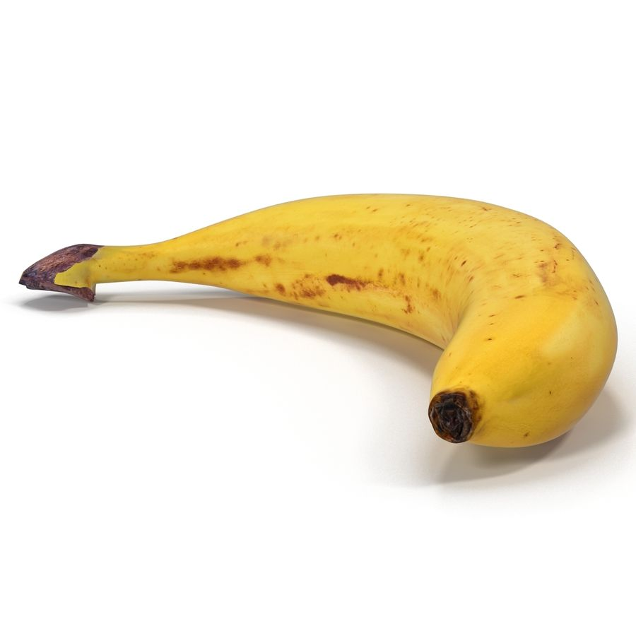 Banaan royalty-free 3d model - Preview no. 9