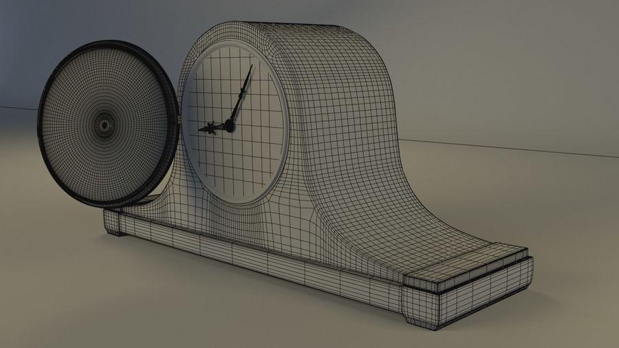 壁炉钟 royalty-free 3d model - Preview no. 4