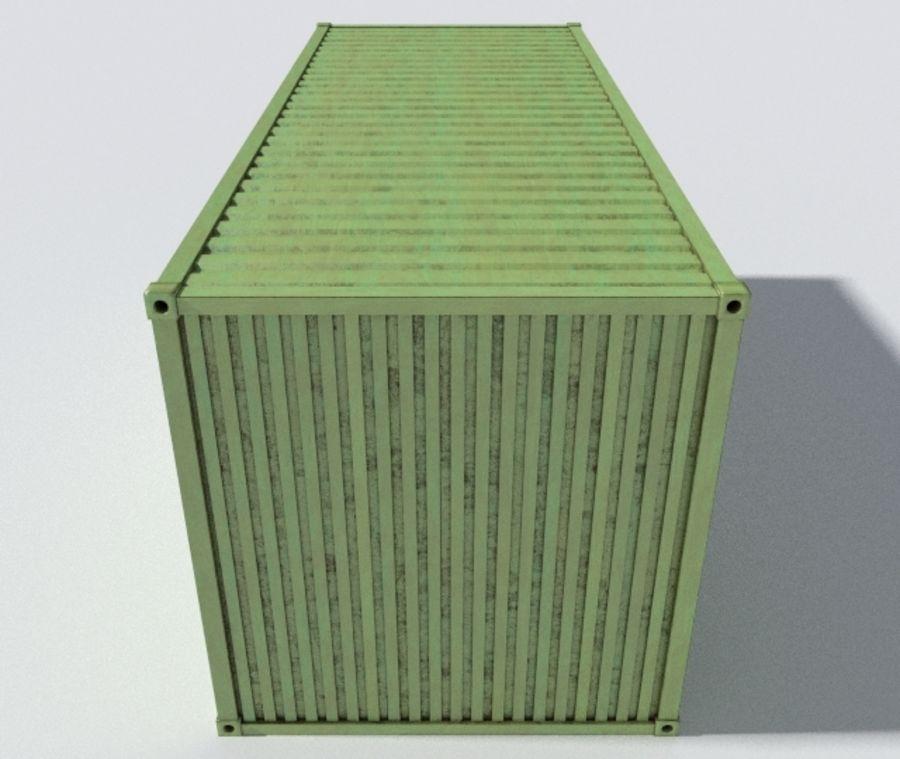 运输集装箱 royalty-free 3d model - Preview no. 4
