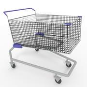 Carrito de compras modelo 3d