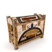 Egyptian Chest 3d model