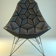 Nowoczesny fotel Rombic 3d model