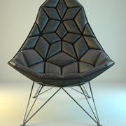 Modern Rombic Armchair 3d model