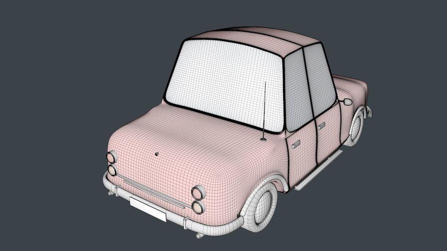 Cartoon car(1)(1) royalty-free 3d model - Preview no. 6