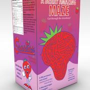 caja de cereales dulces modelo 3d