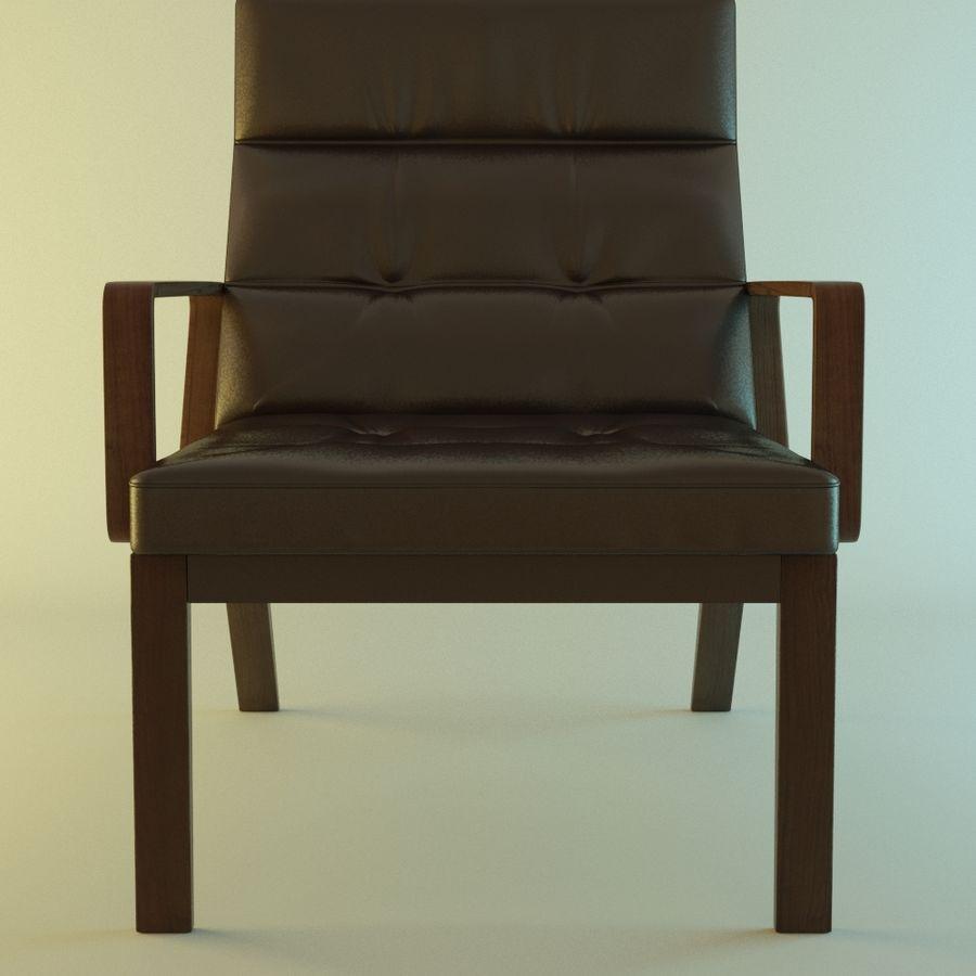 Кресло отдыха royalty-free 3d model - Preview no. 1