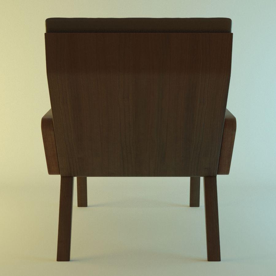 Кресло отдыха royalty-free 3d model - Preview no. 4