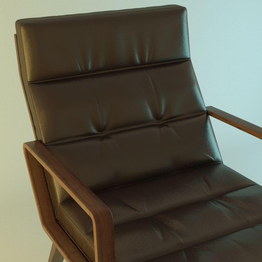 Кресло отдыха royalty-free 3d model - Preview no. 5
